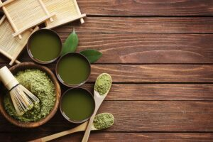 Homeopathic medicines in bamboo bowls